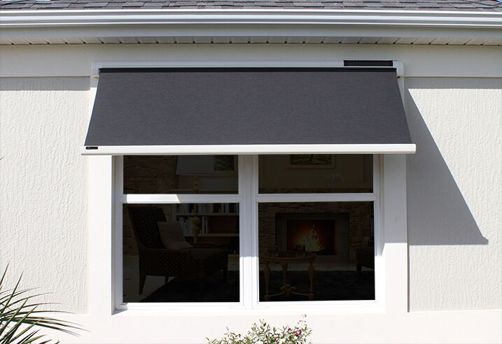 Solar Powered Retractable Window Awnings - Southeast Awnings