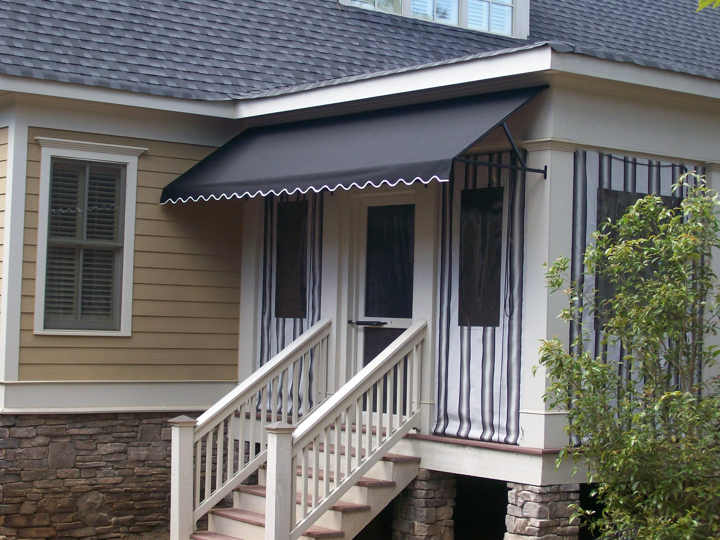 Standard Awning with Open Sides