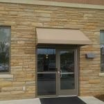 Standard Awning with Solid Valance